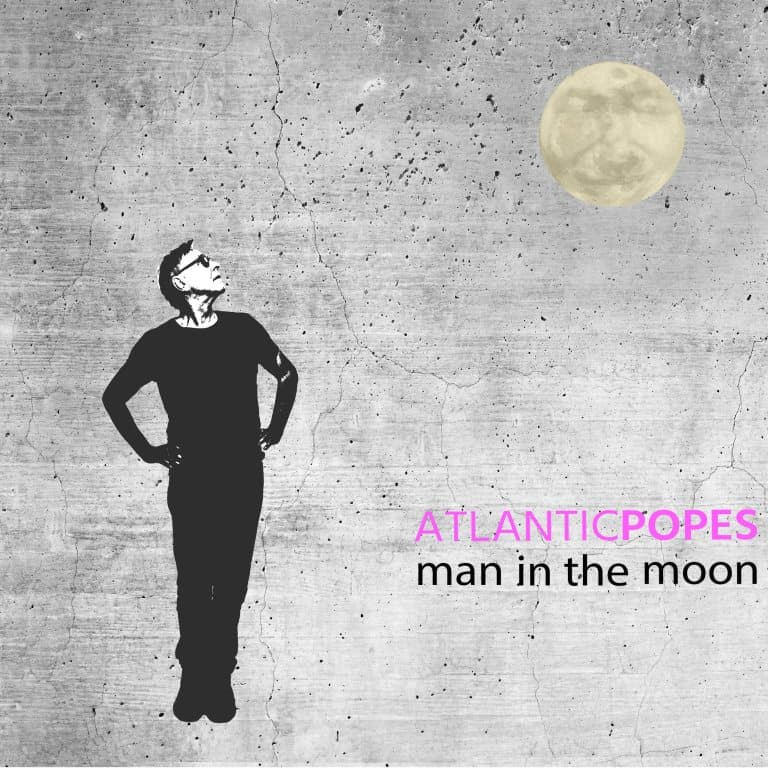Atlantic Popes: Man In The Moon Cover